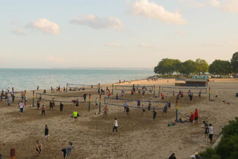 Bradford Beach is located in the center of Lincoln Memorial Drive, conveniently four miles away from campus.