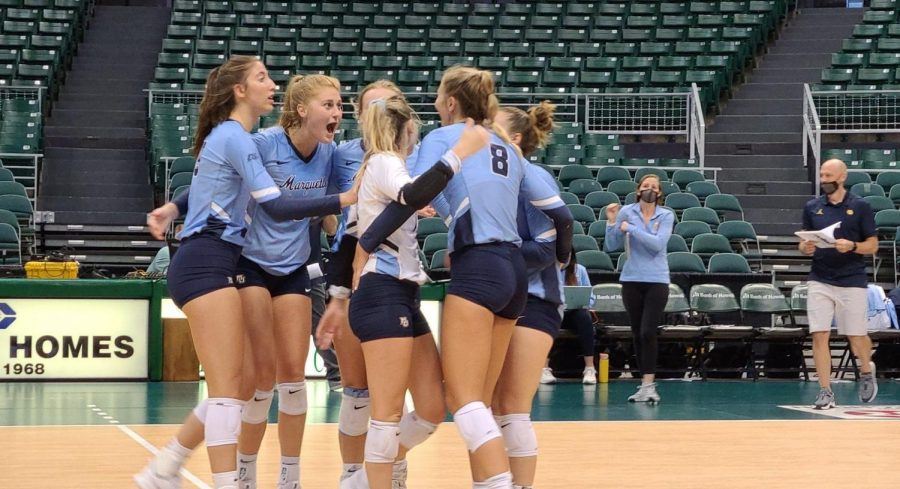 Marquette holds on to earn fifth-set win over Texas A&M in season opener