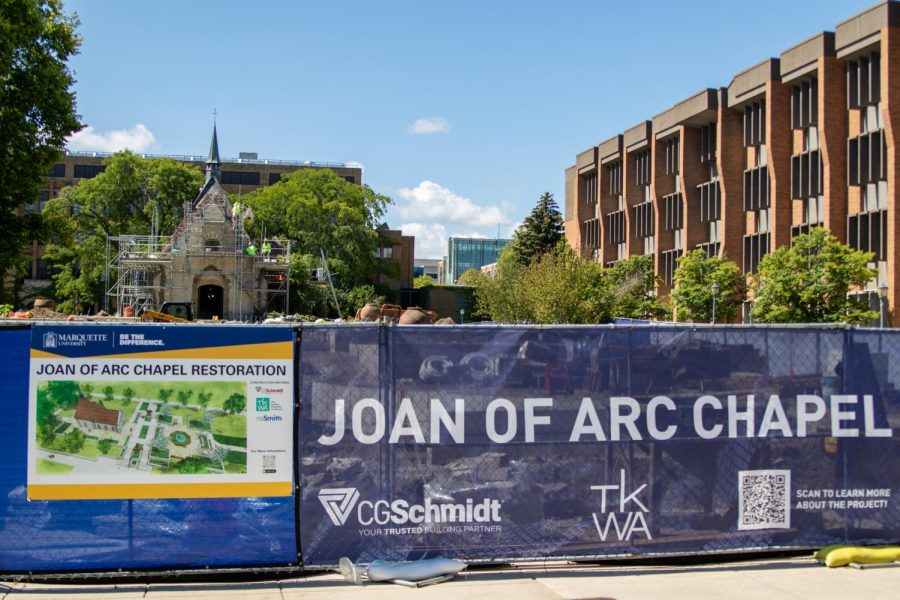 The+St.+Joan+of+Arc+chapel+is+currently+undergoing+restoration