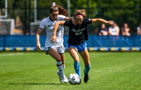 Maggie Starker (28) was named the 2021 Wisconsin Gatorade Player of the Year.