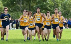 Cross Country runs in the 2018 Vic Godfrey Open. (Photo courtesy of Marquette Athletic.)