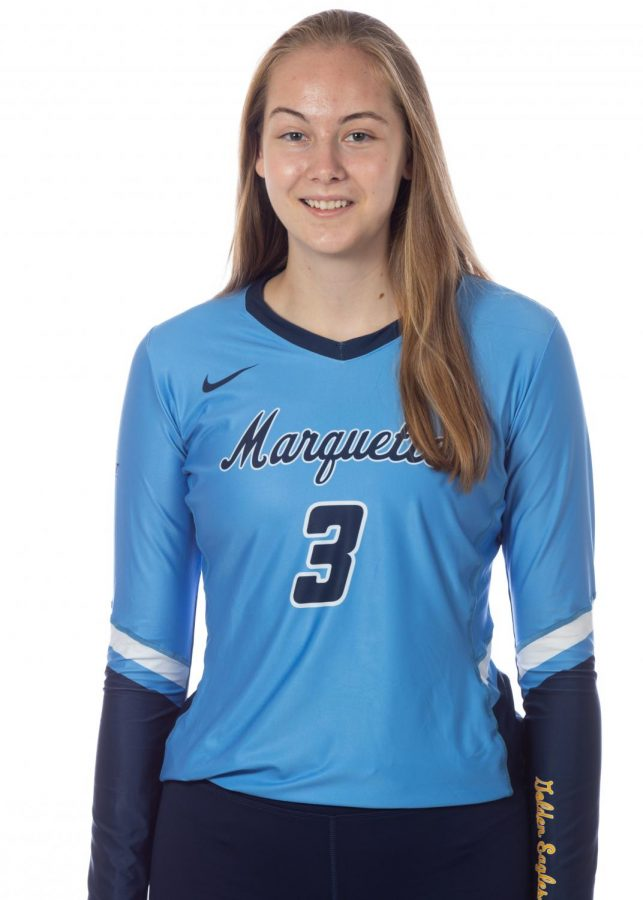 Anastasija+Svetnik+%283%29+spent+the+first+year+of+her+collegiate+career+at+Oregon+State+before+transferring+to+Marquette+this+past+summer.+%28Photo+courtesy+of+Marquette+Athletics.%29