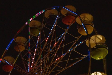 Along with concerts, Summerfest has rides.