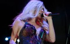 Pictured is Kesha on her Warrior tour in 2013.
