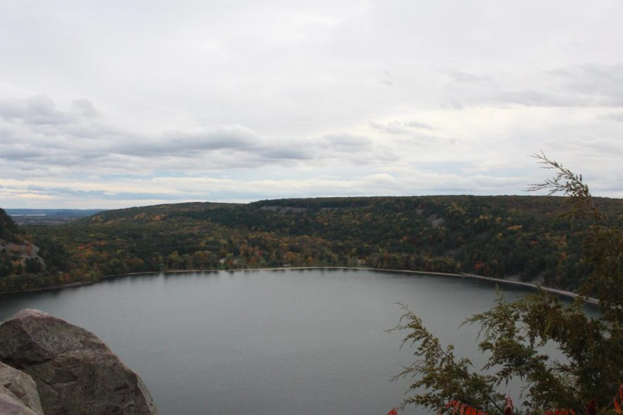 Devils Lake is a popular destination among many Marquette students