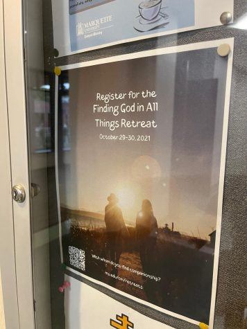 The Finding God in All Things retreat will take place Oct. 29-30