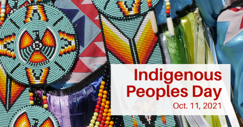 Indigenous peoples day has been recognized by the U.S. government (graphic from UW-Madison office of Diversity, equity, and inclusion)