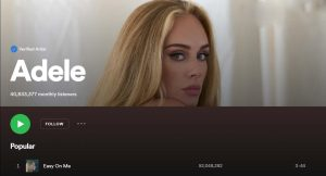 Adele released her new single Easy on Me on Friday, Oct. 15.