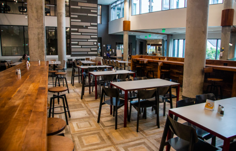 Dining halls across campus like The Commons require students to use their MUID to enter.