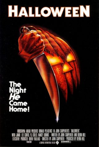 Movie poster of the 1978 film Halloween. Photo via Flickr